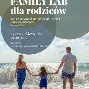 Warsztaty Family Lab dla rodziców